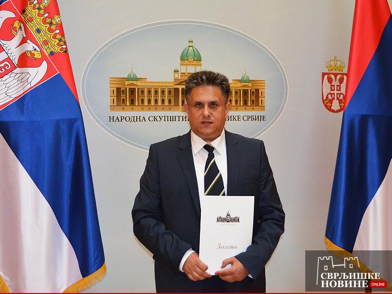 Milija Miletić narodni poslanik Republike Srbije