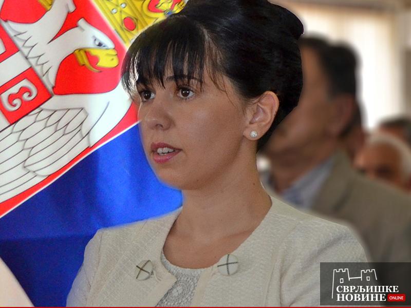 Predsednica opštine Jelena Trifunović, arhivska fotografija