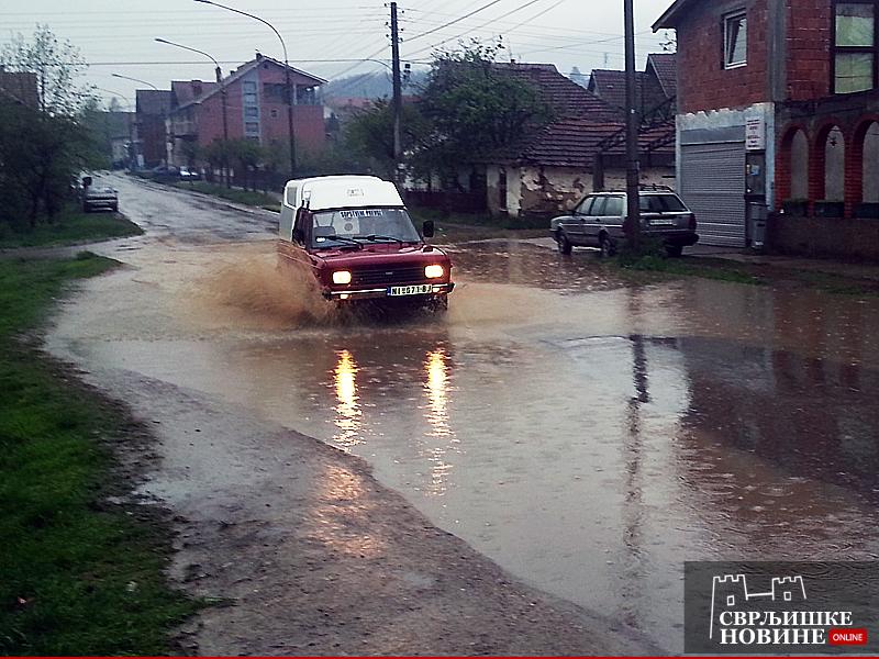Poplavljena ulica Vase Albanca