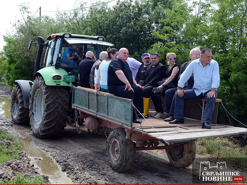 Odbor za poljoprivredu obišao poplavljena područja