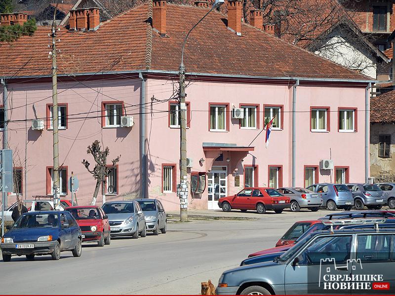Arhivska fotografija, opštinska zgrada, Opština Svrljig, foto: M.M.