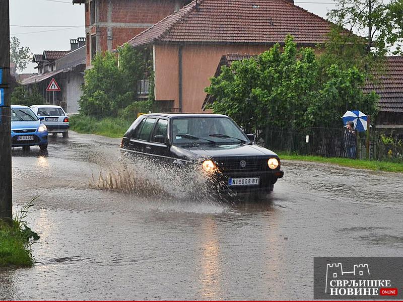 Deset minuta dovoljno za poplavu?!