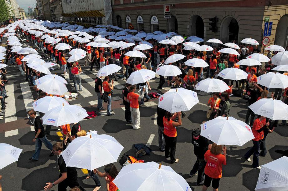 Maturantska parada u Svrljigu