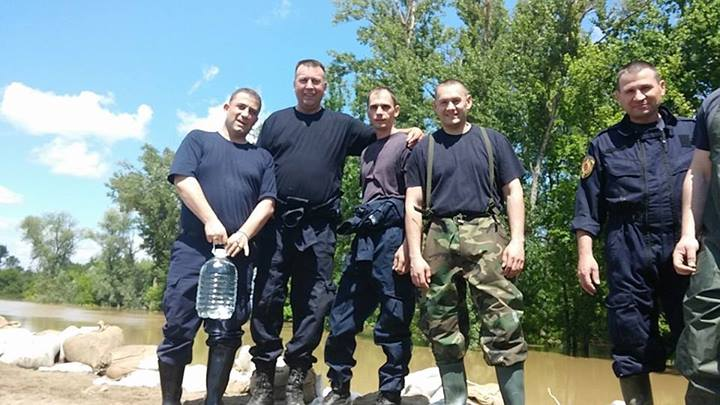 Svrljiški policajci u odbrani Sremske Mitrovice