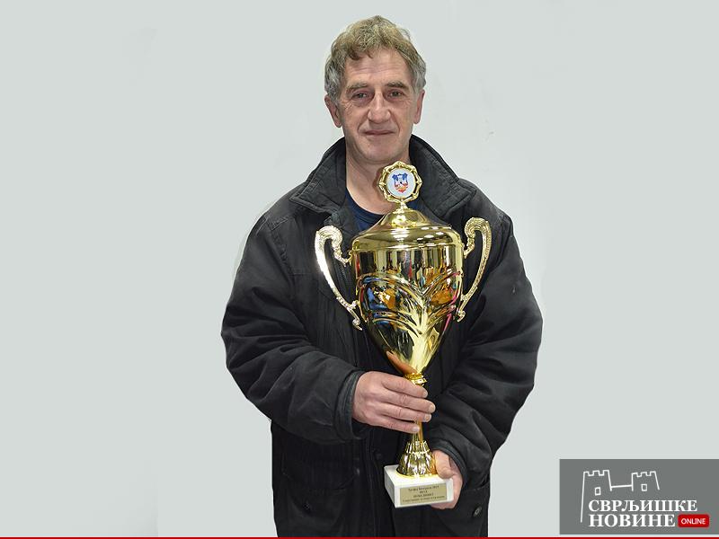 Miroslav Tošić osvojio turnir u Knjaževcu