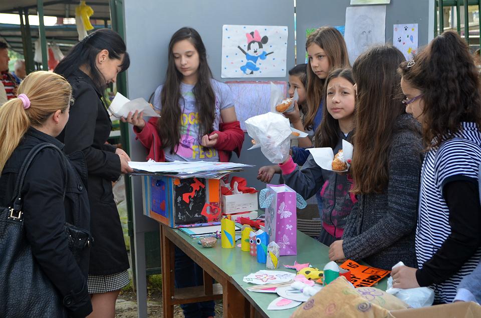 Humanitarna akcija učenika petog razreda