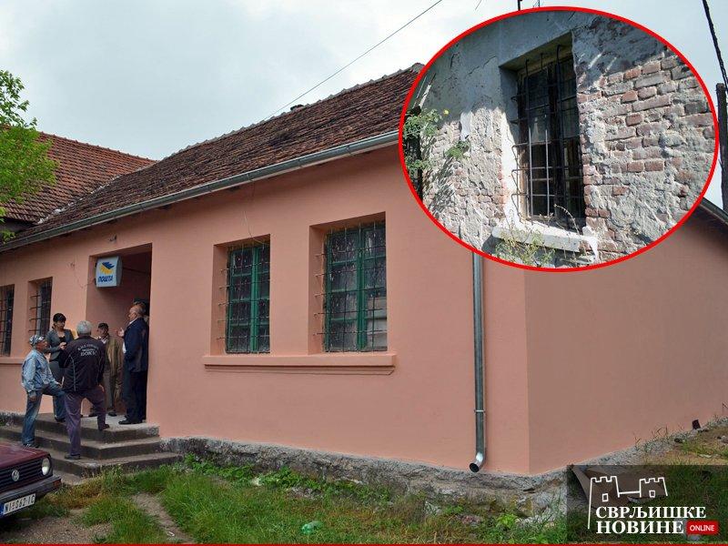 Renovirana zgrada Mesne kancelarije u selu Varoš