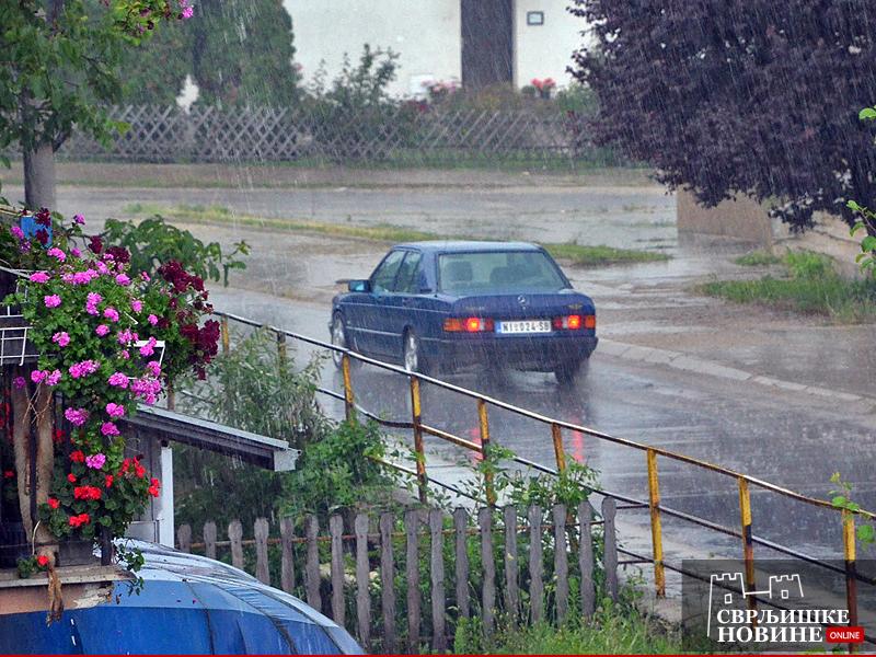 Kiša i grmljavina