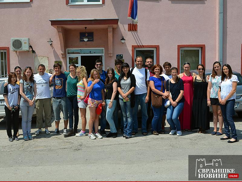 Volonteri 13 zemalja obišli Svrljig