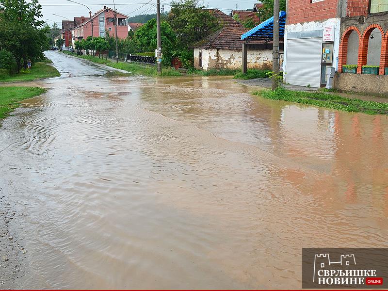 Poplava u Vase Albanca