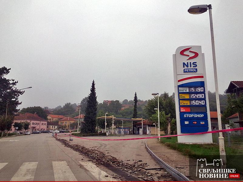 Cene goriva na NIS benzinskoj stanici