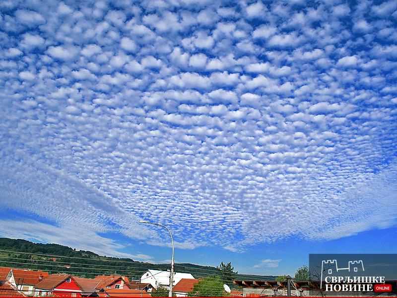 Čudno nebo nad Svrljigom