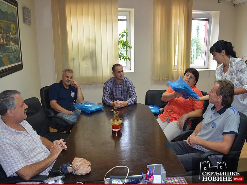 Direktori i odbornici na sastanku kod predsednice