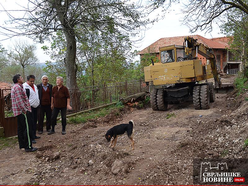 Radovi u Grbavču