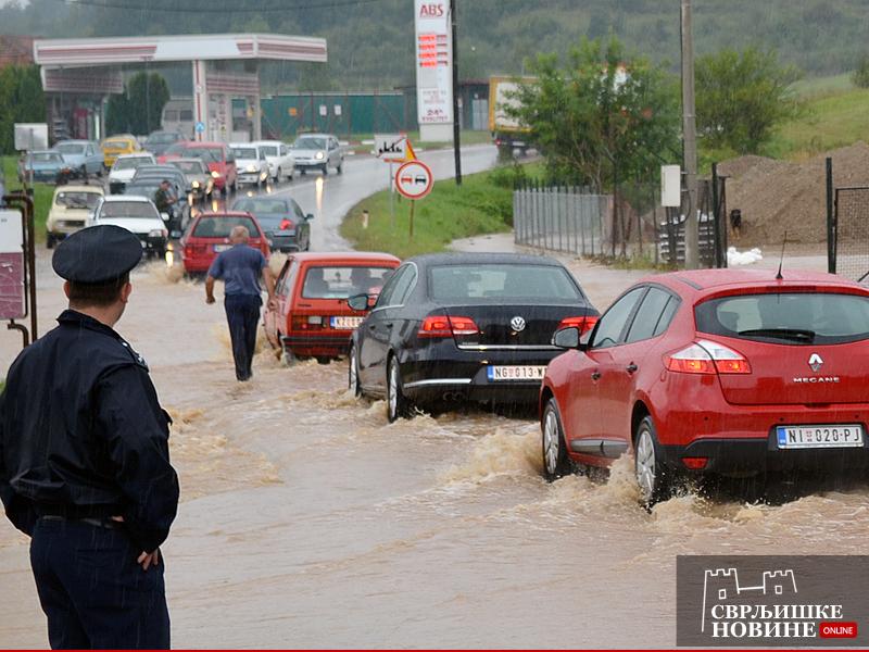 Poplavljena naselja u Svrljigu (FOTO)
