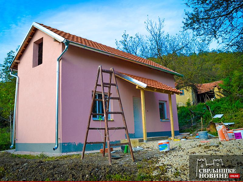 Završena kuća za Zoricu