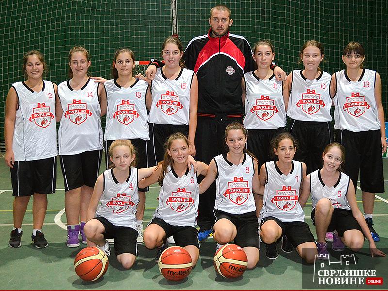 Pobeda mladih košarkašica
