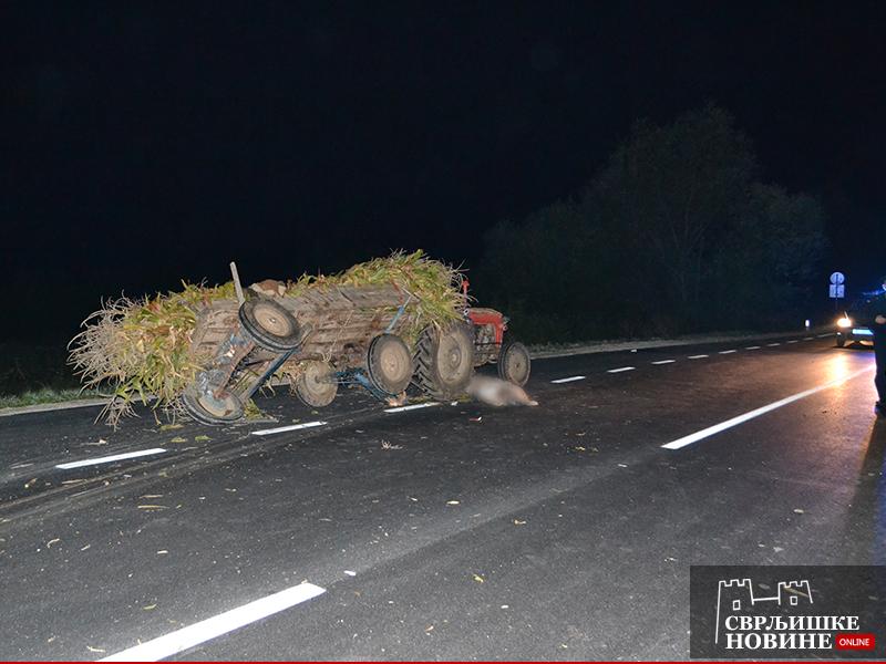 Traktorom poginuo kod Beloinja