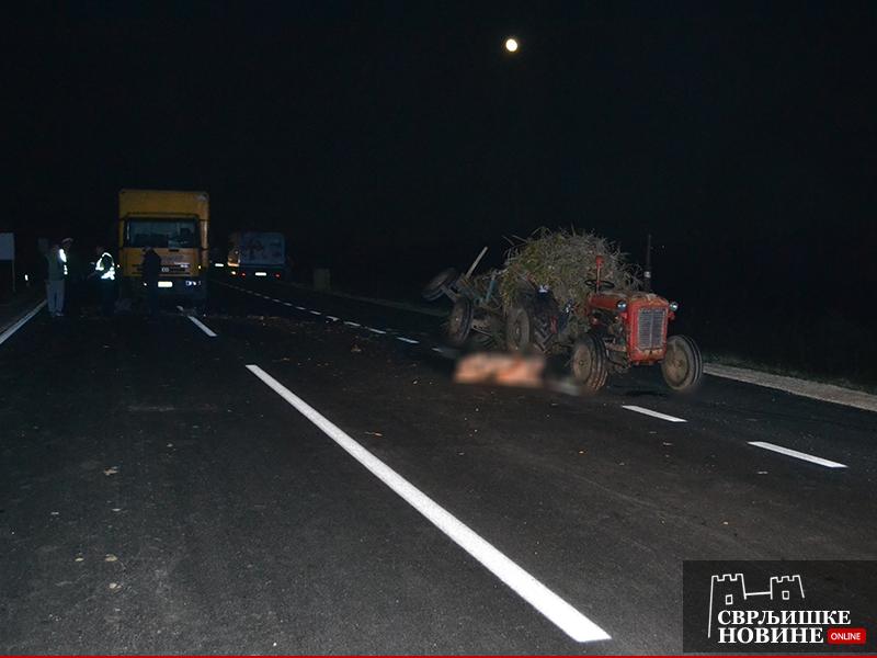 Poginuo vozač traktora iz Svrljiga