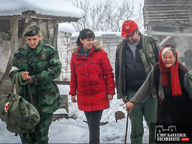 Vojska pomaže žiteljima svrljiške opštine