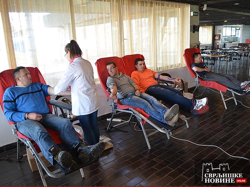 Arhivska fotografija, dobrovoljno davanje krvi, foto: Svrljiške novine