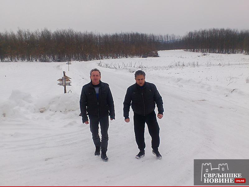 Antonijević i Miletić obišli seoske puteve
