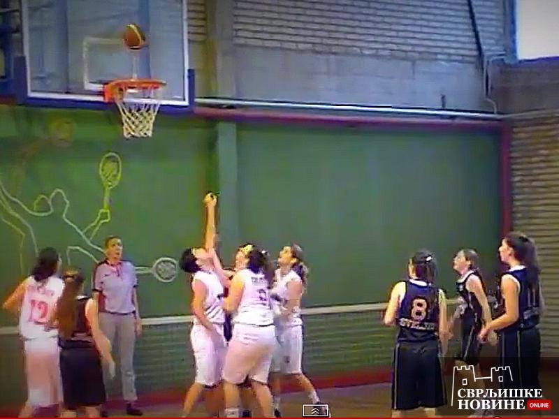 Sve bolja igra košarkašica Svrljiga
