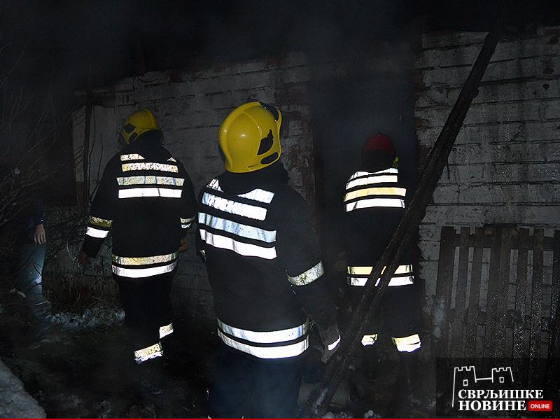 Izgorela kuća u požaru