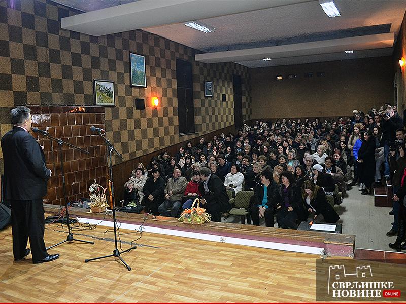 Oko 300 žena na obeležavanju 8. marta