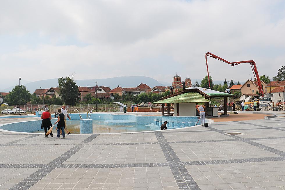 Počele pripreme za otvaranje bazena