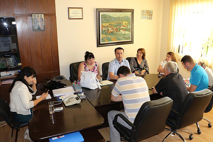 Predsednica sa direktorima o predstojećim aktivnostima