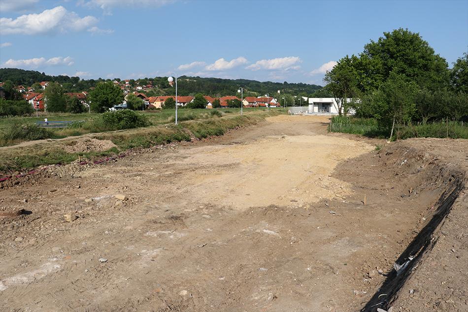 """Počela izgradnja parkinga kod bazena SRC """"Pastirište"""""""