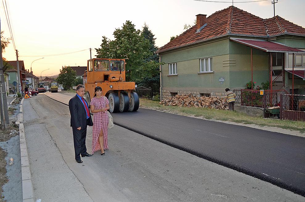 Počelo asfaltiranje ulice Vase Albanca