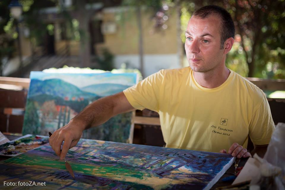 Bogata likovna aktivnost svrljiškog slikara