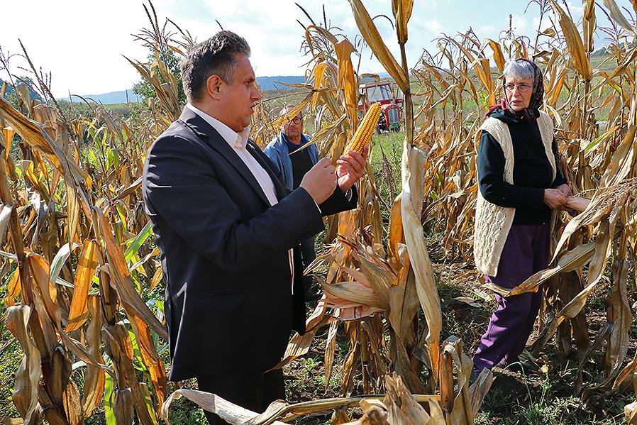 Narodni poslanik obišao poljoprivrednike