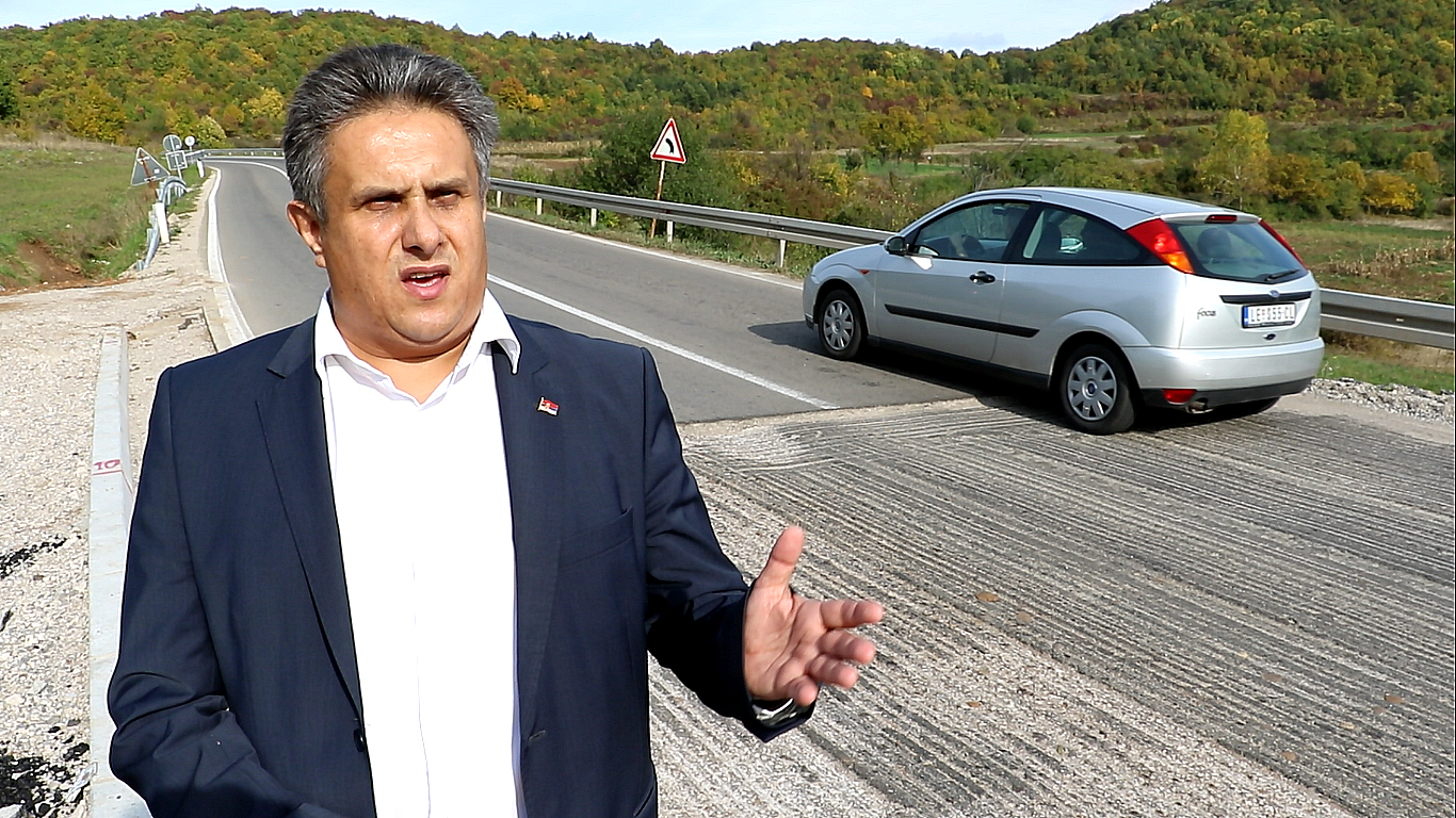 Miletić apelovao da nadležni poprave put na prevoju kod Gramade