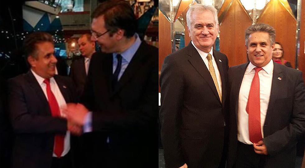 Susret sa premijerom i predsednikom Srbije