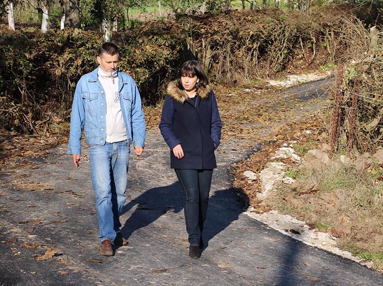Predsednica opštine obišla infrastrukturne radove