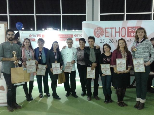 """Uspeh Svrljižana na 10. sajmu """"Etno hrana i piće"""""""