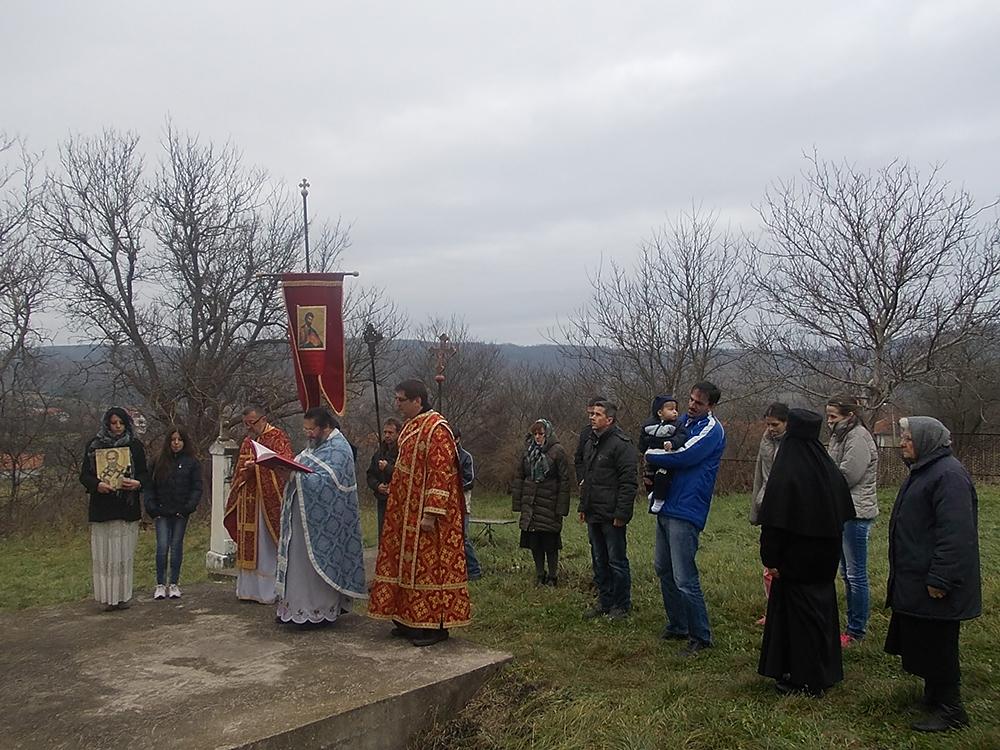 Služena Sveta Liturgija na dan Svetog Nikole u Lalincu
