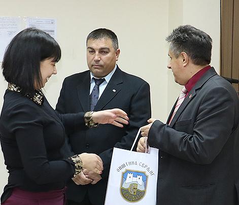 Predsednica opštine Jelena Trifunović