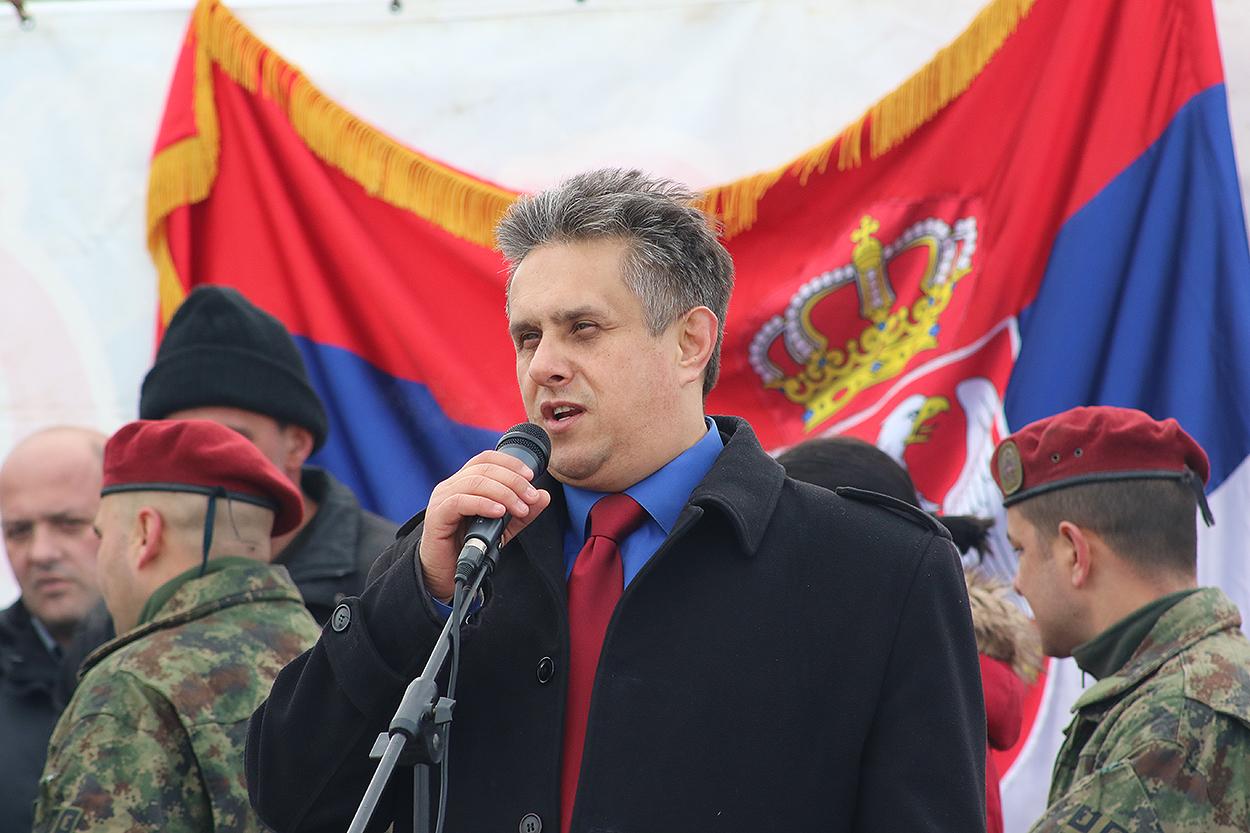 Predsednik Ujedinjene seljačke stranke Milija Miletić