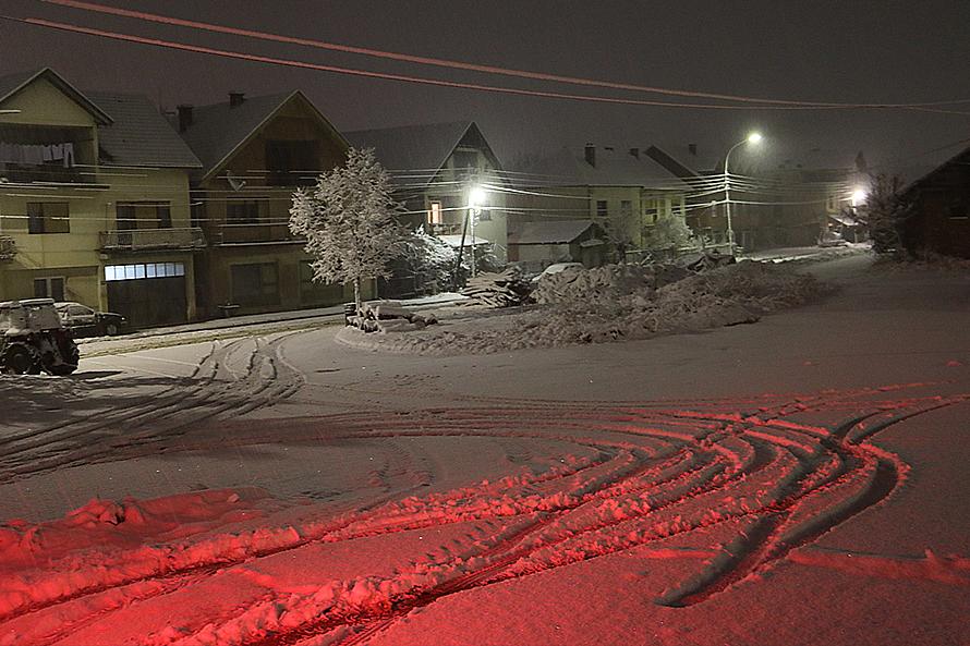 Novi nalet snega u Svrljigu (FOTO)