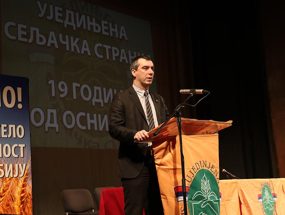 Narodni poslanik Vladimir Orlić, foto: Marko Miladinović