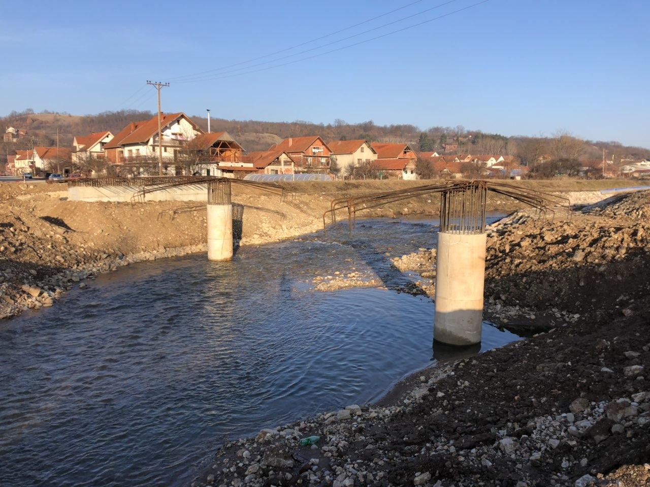 Izgradnja mosta na Pravačkoj reci i nastavak izgradnje mosta na reci Svrljiški Timok 3