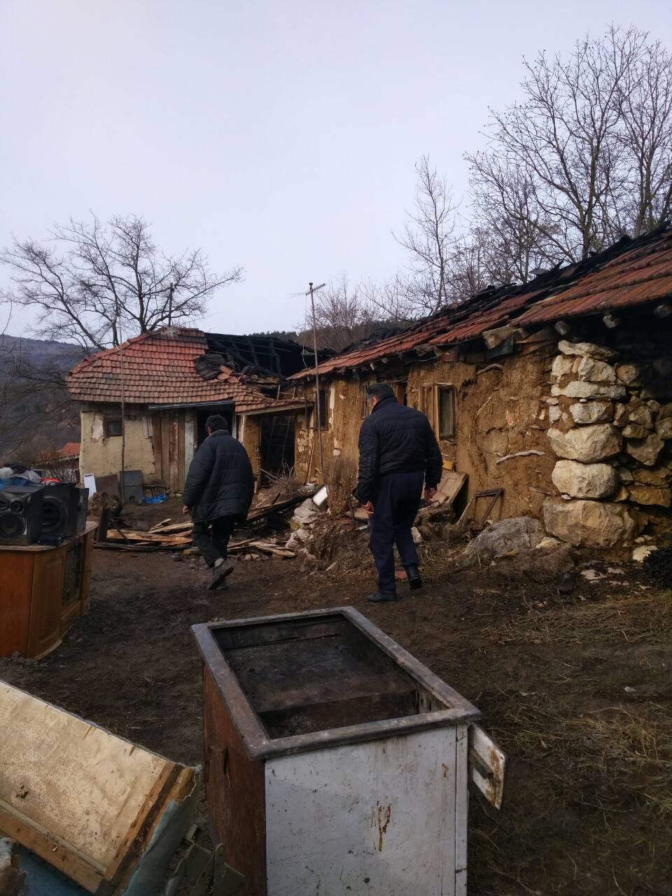 U požaru izgorela kuća u selu Drajinac kod Svrljiga
