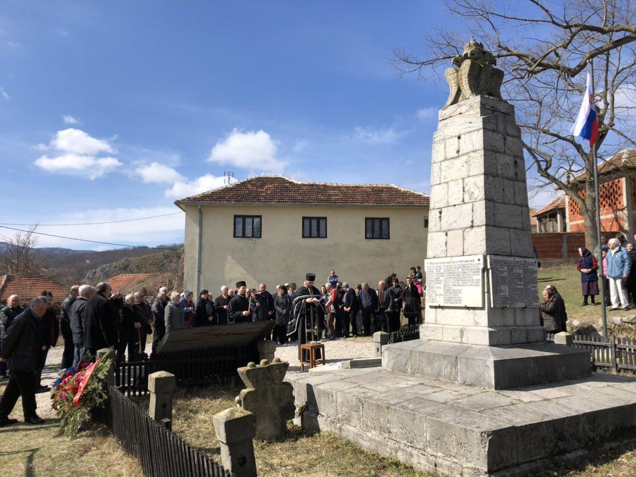Spomen obeležje u Grbavču, foto: M.M.