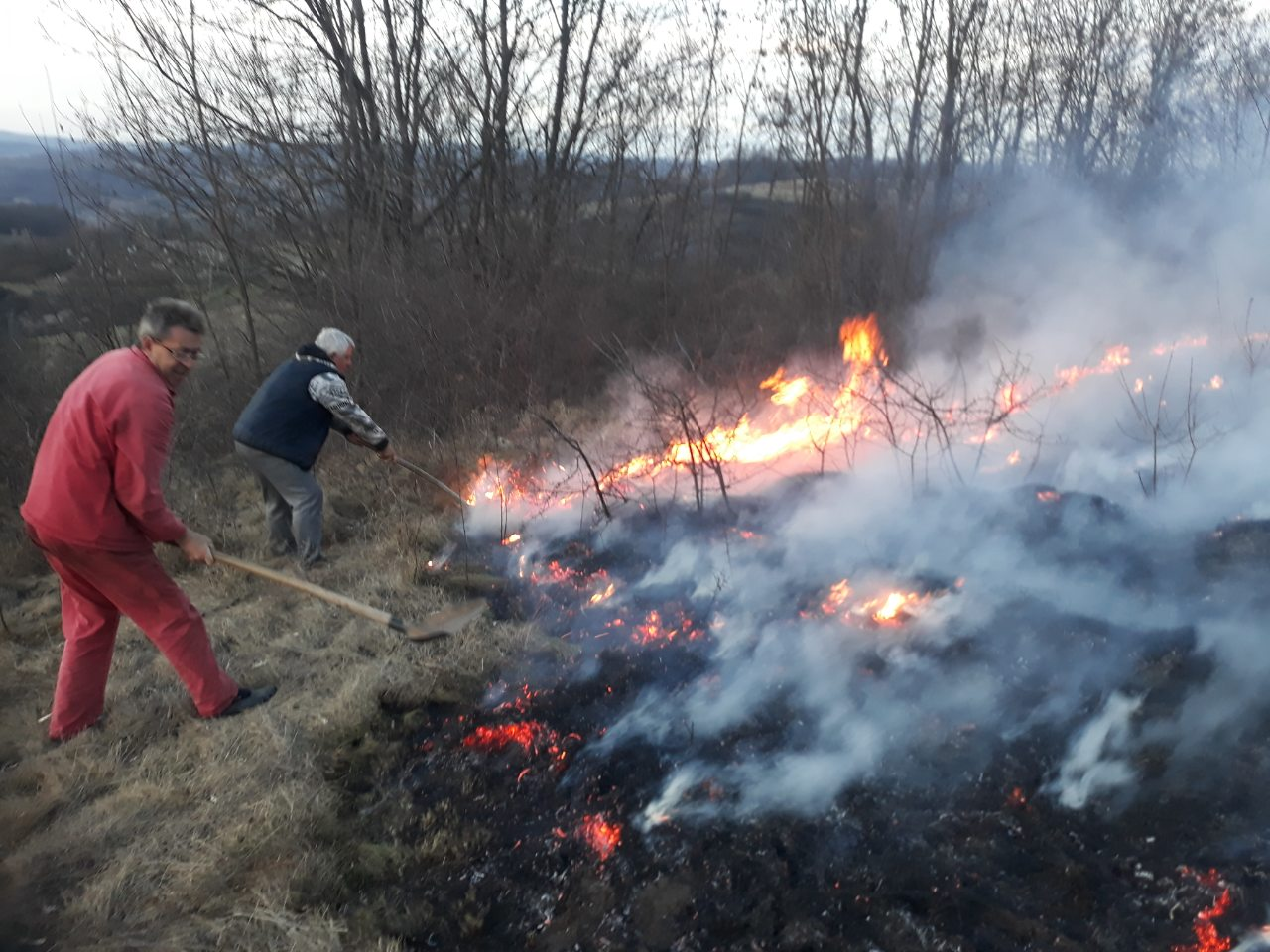 Požar u ataru sela Đurinac