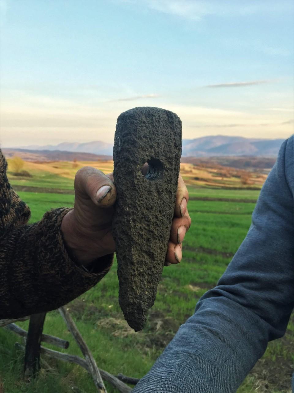 U Svrljigu pronađeno oruđe iz bakarnog doba