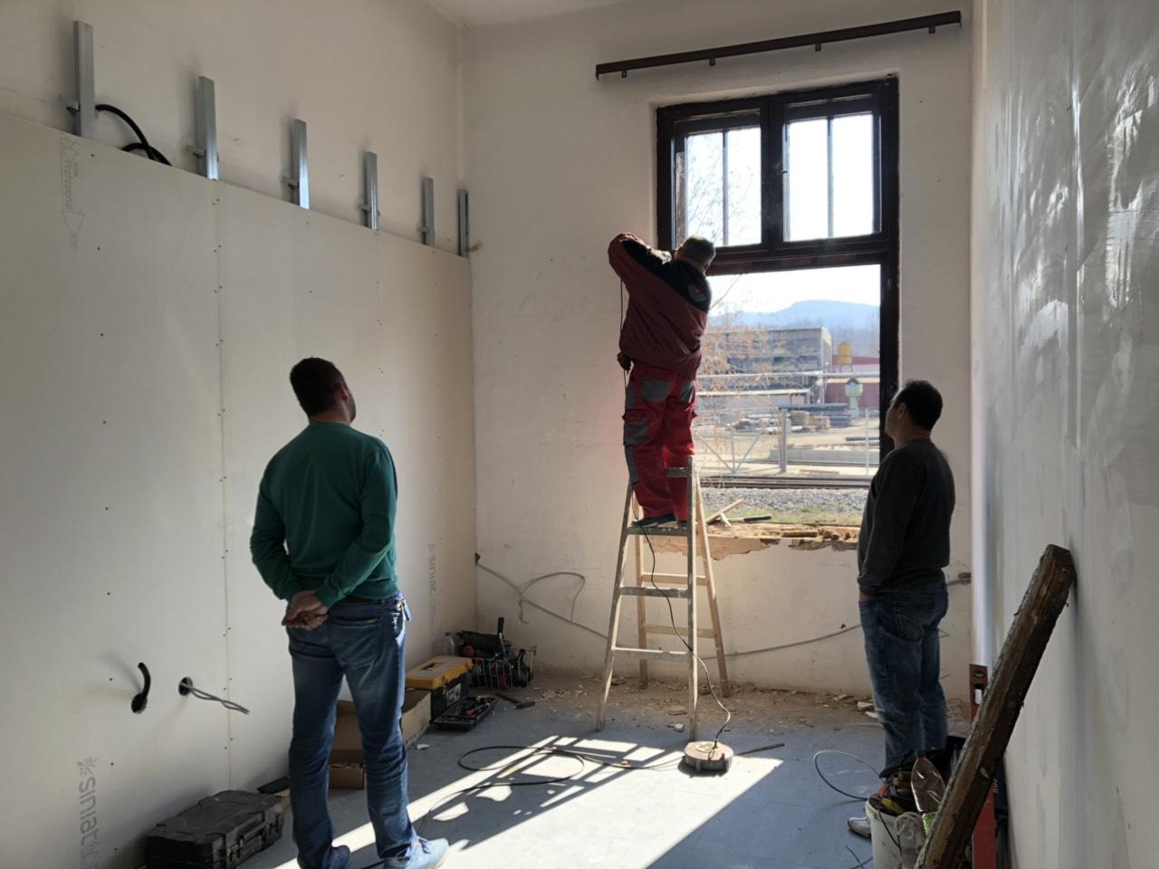 Rekonstrukcija učionice, foto: N.E.